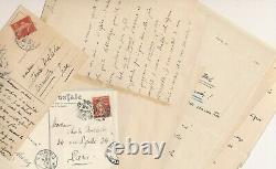 Adolphe Boschot Rich Correspondence Of 32 Autograph Letters Signed Berlioz