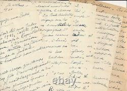 André De Fouquières Autograph Manuscript Signed Inde Kapurthala And Letter