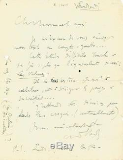 André Lhote / Autograph Letter Signed