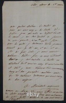 Augereau Marchal Paper Of Napoleon- Autography Letter Signed