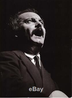 Autograph Letter From Georges Brassens (1957 With 3 A Photography Including Signed)