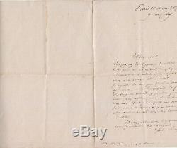 Autograph Letter Signed By Ferdinand De Lesseps On The Canal Du MIDI In 1870