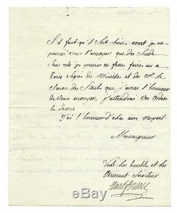 Axel Fersen / Autograph Letter Signed / Favorite Of Marie Antoinette