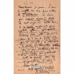 Berlioz, Delacroix, Gautier, Liszt. 80 Autograph Letters Signed