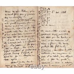 Berlioz, Delacroix, Gautier, Liszt. 80 Letters Signed Autographs
