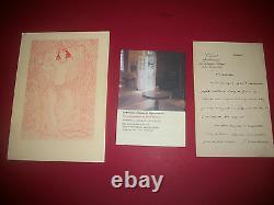 Cahiers Des Amis De Pierre Benoit 1 A 11 + Autograph Letter Signed + A View