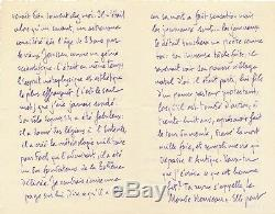 Camille Mauclair Autograph Letter Signed Mr. Rastislav Stefanik Czechoslovakia