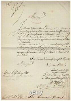 César Berthier / Signed Letter (1812) / Au Duc De Feltre / Corsica / Deserters /