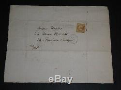 Charles Baudelaire Curious Letter Autograph Signed His Creditor Mr Templier