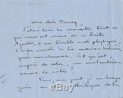 Colette Autograph Letter Signed