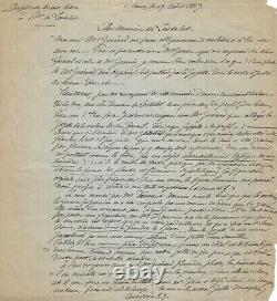 Émile Gallé Autograph Letter Signed His Works In The Gazette Des Beaux-arts