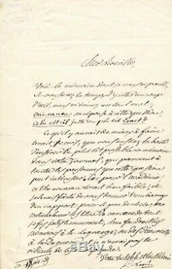 Gabriel Lamé Mathematician Autograph Letter Signed Addressed To Joseph Liouville