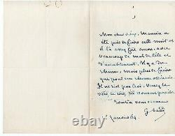 George Sand Signed Autograph Letter