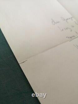 Handwritten Letter Signed Jean Pierre Melville Autographe Signature 1963