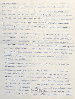 Hans Bellmer Long Letter Signed Autograph Doll Games