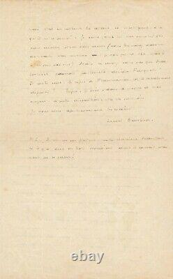 Henri Barbusse Autograph Letter Signed Feudalism Germany Political Payot