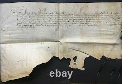 Henri III King Of France Document / Letter Signed Pressed Affairs - Secret