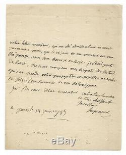 Jean Francois Galaup La Perugia / Autograph Letter Signed / Departure Brest
