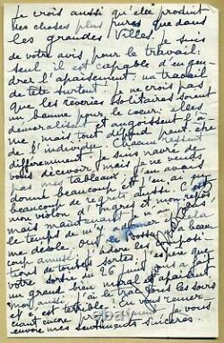 Jean Marais (1913-1998) Interesting Autograph Letter Signed In 1960 2 Pp