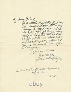 Jessie Marion King 2 Autograph Letters Signed In English Jewelry Illustrator