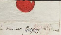 Joseph Fouche Minister Napoleon Duchy Autograph Letter Signed Als