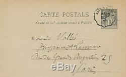 Jules Breton Autograph Letter Signed Proofreading Test Lemerre Work Painter