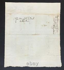 Louis XII King Of France Letter Signed Pope And Adviser King 1501