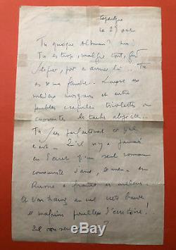 Louis-ferdinand Céline Autograph Letter Signed To George Altman
