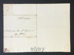 Madame De Maintenon Beautiful Letter Signed About Royal House Of Saint-louis