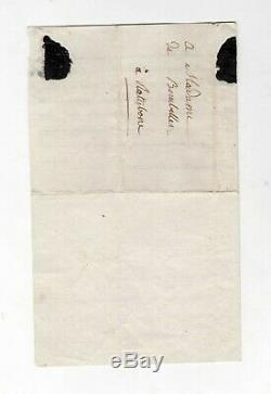 Madame Royale / Letter Autograph Signed (1796) / Revolution / Louis XVI