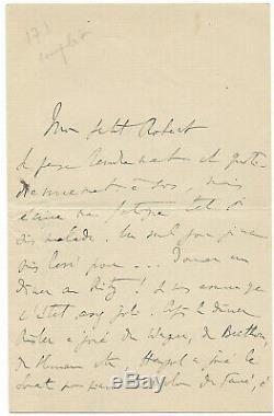 Marcel Proust / Autograph Letter Signed / Ruskin / Baudelaire / Ritz