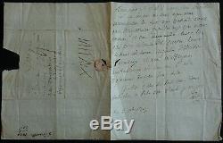 Marquis De Sade, Autograph Letter Signed
