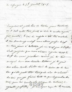 Marshal Jean Lannes Autograph Letter Signed Uncommon