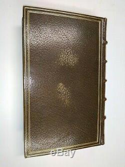 Marshal Oudinot Empire Napoleon Morocco Binding Letter Signed Autograph 1894