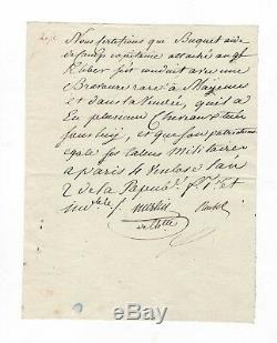 Merlin De Thionville / Signed Letter (1794) / Kleber / Reubell / Revolution