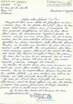 Mesrine (jacques) Autograph Letter Signed