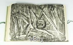Michaux Meidosems Daybreak, 1948. Eo. Sending + Autograph Letter Signed