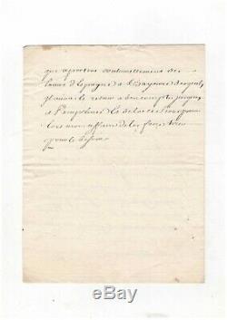 Michel De Chamillart / Letter Signed / Versailles / 1707 / Louis / Maintenon