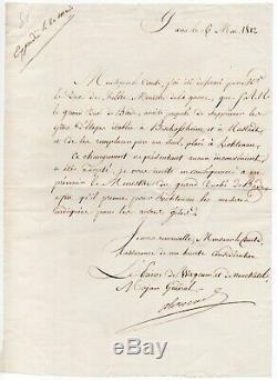 Napoleon Alexandre Berthier Autograph Letter Signed May 6, 1812