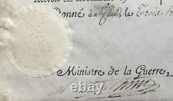 Napoleon Bonaparte Document / Signed Letter Patent Captain 1803