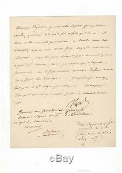 Napoleon / Signed Letter (1807) / On The Rifles / Battle Of Eylau / Austerlitz
