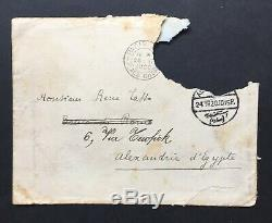 Paul Valery Beautiful Autograph Letter Signed Envelope With 1920