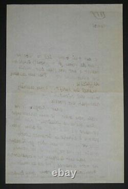 Paulhan Jean Letter Autography Signed To Roger Caillois New French Review