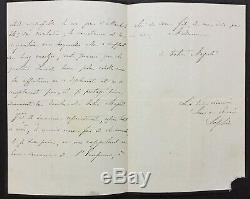Queen Of The Netherlands Autograph Letter Signed To The Empress Eugenie In 1870 -als-