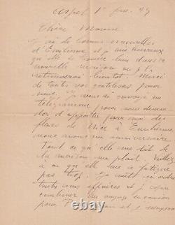 Raoul Dufy Autograph Letter Signed 1945