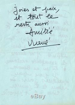 René Barjavel (1911.1985). Autograph Letter Signed