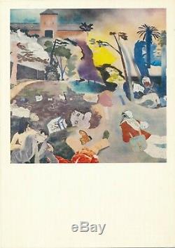 Ronald B. Kitaj Autographed Postcard Signed In English