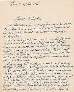 Rossi Signed Autograph Letter 2 Pages On His Speed Record 1937