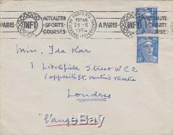 Tsugouharu Foujita Autograph Letter Signed Ida Kar Rare Art