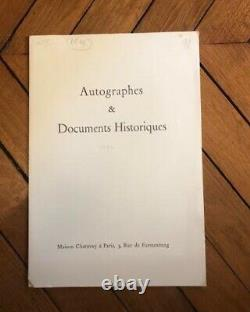 Victor Hugo Nice Autograph Letter Signed